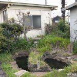 JR東海・武豊線・武豊駅構内の池の中にある謎の島!?