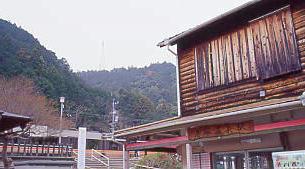 JR東海・飯田線、湯谷温泉駅に停車する特急伊那路