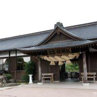 JR西日本木次線・出雲横田駅、社殿風の純和風木造駅舎