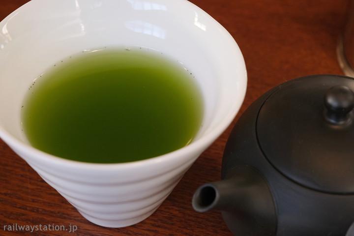 JR小浜線・松尾寺駅のカフェ「Salon de RURUTEI」日本茶