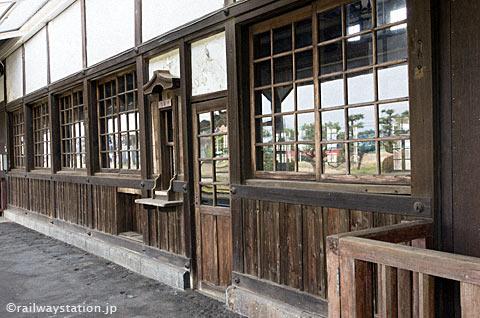 大社線・大社駅、駅舎ホーム側