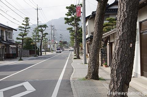 大社線・大社駅から出雲大社への参道