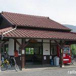 玉柏駅 (JR西日本・津山線)~半分になっても昔ながらの姿が保たれた木造駅舎~