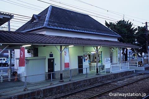 高松琴平電鉄・志度線・琴電屋島駅、駅舎ホーム側