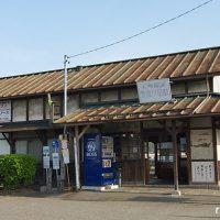 長野電鉄・屋代線・信濃川田駅、古色蒼然とした木造駅舎