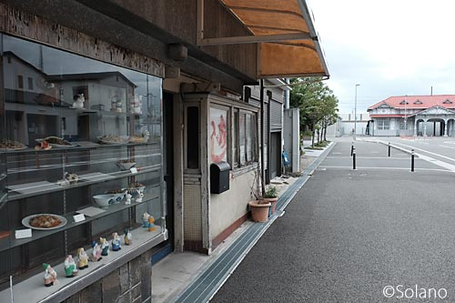 南海・浜寺公園駅前、昔からの食堂跡