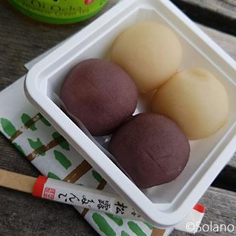 浜寺公園駅前、福栄堂の松露だんご
