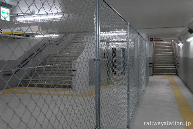 南海電鉄浜寺公園駅、地下通路