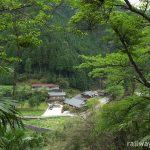 紀伊細川駅(南海電鉄・高野線)~集落と山並みを一望する絶景の中の木造駅舎~