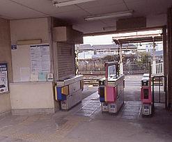 南海電鉄・高野線(汐見橋線)・木津川駅、改札口