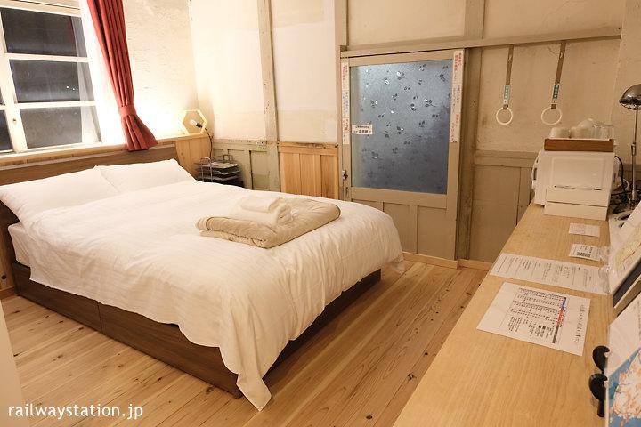 南海電鉄高野線・高野下駅、駅舎ホテル「天空」室内