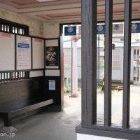 南海加太線・東松江駅の駅舎