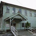近江鉄道・八日市線・新八日市駅、1912年(大正11年)築の洋風木造駅舎。