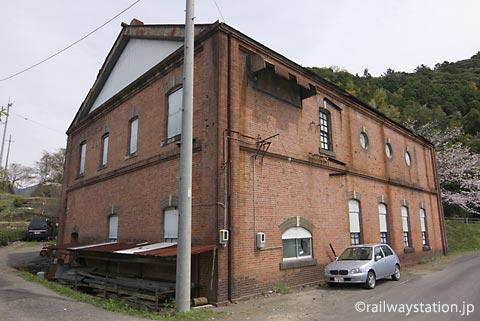 静岡県川根本町、東海パルプ地名発電所跡