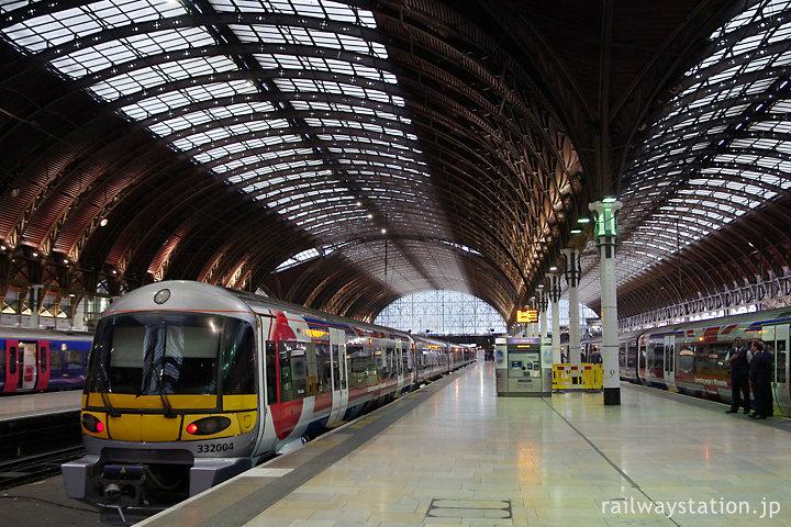 ヒースローエクスプレスが発着するロンドンのターミナル駅・パディントン駅