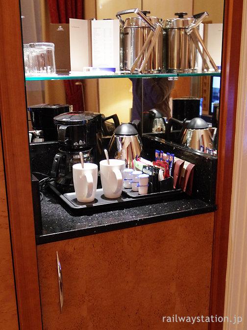 ヒルトン・ロンドンパディントン、コーヒー・紅茶セット