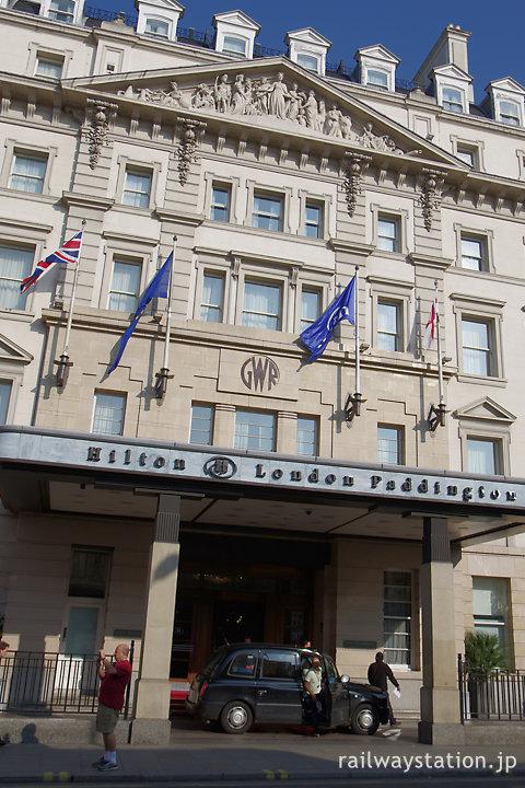フランス宮殿風デザインのホテル、ロンドンのヒルトン・パディントン