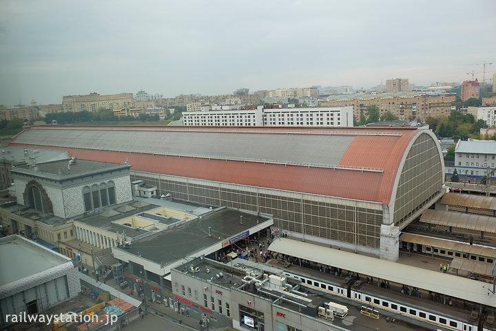 ホテルイビス・キエフスカヤから見たロシア鉄道のキエフスキー駅