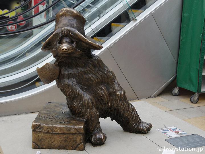 ロンドン・パディントン駅構内、パディントンベアー銅像