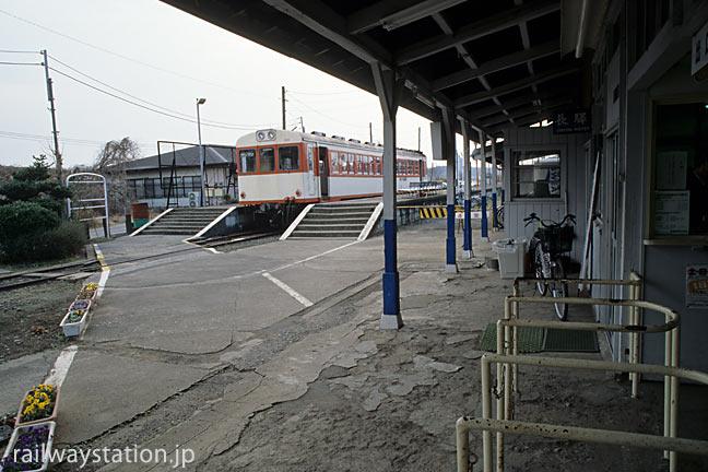 鹿島鉄道の終着駅・鉾田駅