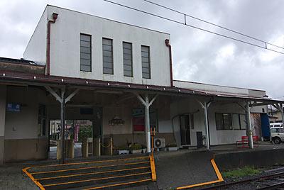 富士急行・大月線・下吉田駅、駅舎ホーム側