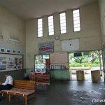 下吉田駅 (富士急・大月線)~ターミナル駅のような風格溢れる駅舎~