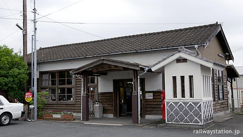 天浜線・遠州森駅、登録有形文化財となった木造駅舎