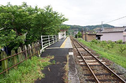 天竜浜名湖鉄道・尾奈駅、1面1線の棒線駅