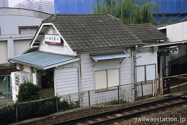 東武鉄道・堀切駅、東京23区内とは思えない素朴な木造駅舎