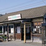 東武鉄道・日光線・合戦場駅、昭和初期築と言われる木造駅舎