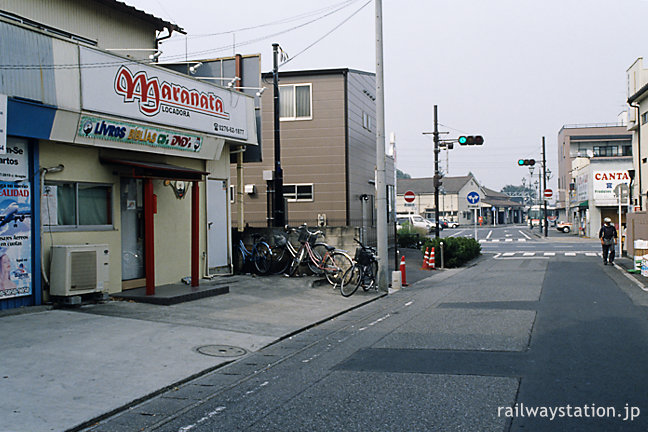 群馬県太田市、東武鉄道・小泉駅近くの街並み