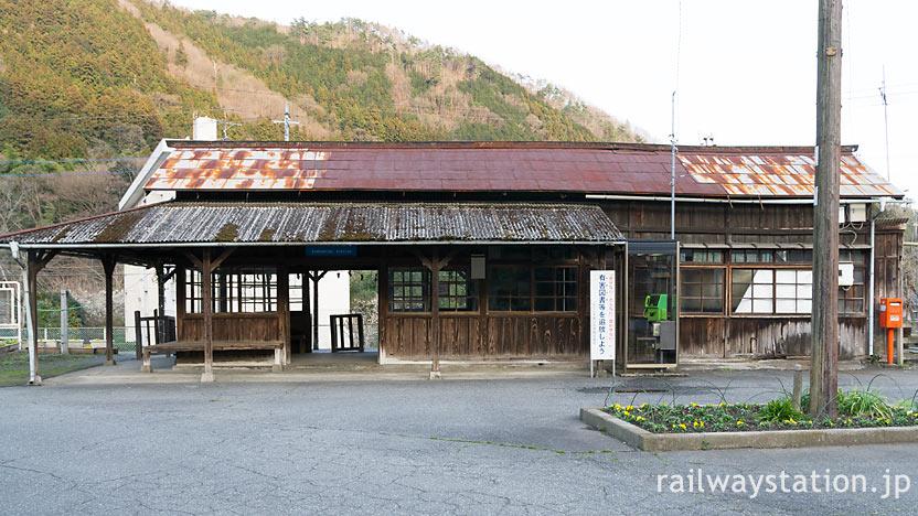 わたらせ渓谷鉄道・上神梅駅、登録有形文化財となった木造駅舎